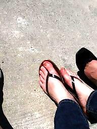 Mature feet, Voyeur mature
