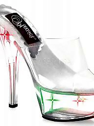 High heels, Toys, Toying, Stripper, High