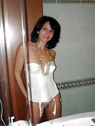 Mature amateur, Art, Brunette mature