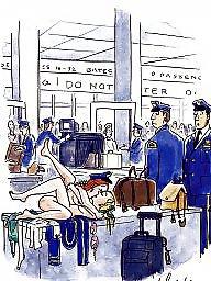 Funny, Vintage cartoons, Funny cartoon