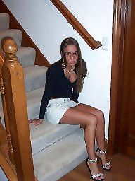 High heels, Heels, Teen stockings