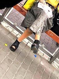 Turban, Nylon, Upskirts, Upskirt stockings