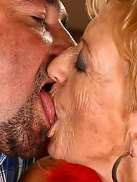 Old granny, Grannies, Old, Old grannies, Kissing, Old mature
