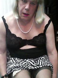 Fat, Crossdresser, Crossdress, Sexy, Blonde, Porn