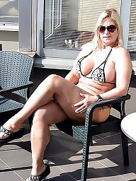 German, Public, Blonde milf, Turkey, Holiday, German milf