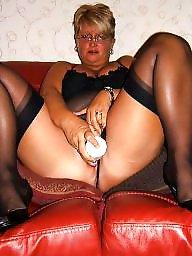 Masturbation, Mature stockings, Toys, Masturbating, Mature sex, Masturbate