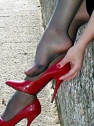 Milf stockings, Teen stockings
