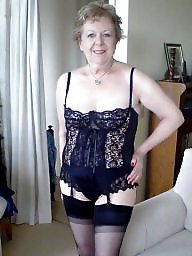 Girdle, Mature stockings, Girdle stockings