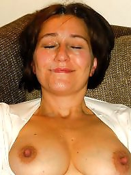 Exposed, Wives, Milf facial, Amateur facial, Amateur facials
