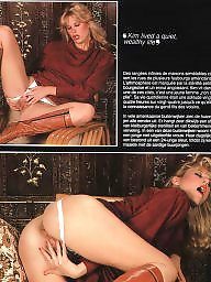 Retro, Hairy pussy, Group, Magazine, Retro sex, Hairy vintage