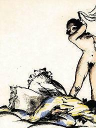 Vintage, Art, Erotic
