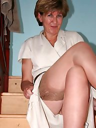 Shower, Mature stockings, Uk mature, Mature shower, Mature stocking