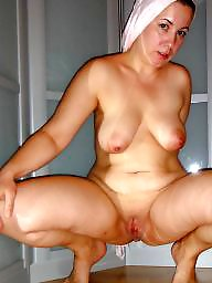Spreading, Milf, Mom, Fat, Spread, Mature spreading