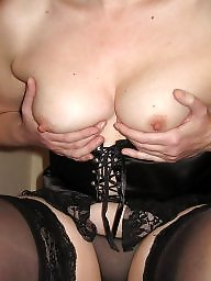 Mature, Stockings, Mature lingerie, Lingerie, Black mature, Mature stockings