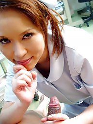 Nurse, Dick, Asian teen, Japanese teen, Nurses, Japanese teens
