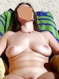 Sun, Ups, Mature naked, Backyard