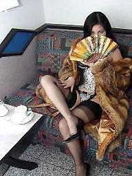 Lady, Posing, Vintage amateur