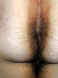 Curvy, Hairy ass, Hairy wife, Curvy ass, My wife, Wife ass