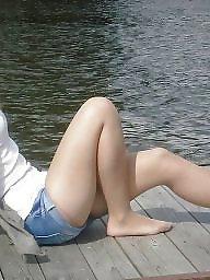 Upskirt, Legs, Leg, Leggings, Show