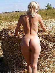 Milf tits, Naked, Sexy milf, Girlfriend, Farm