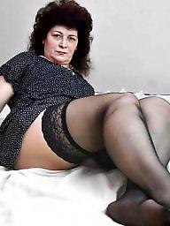 Stockings mature, Sexy stockings