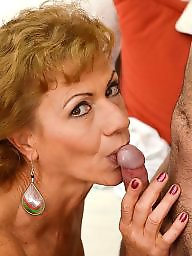 Granny blowjob, Mature blowjob, Suck, Mature milfs, Mature suck, Sucking