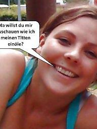 German, Captions, Caption, German captions, German caption, German amateur