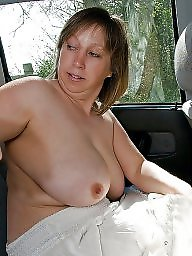 Car, Voyeur, Cars, Big mature, Mature big boobs, Mature women