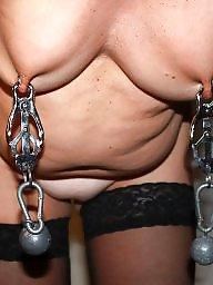 Slave, Torture, Mature bdsm, Tits bdsm, Tit torture, Mature slave