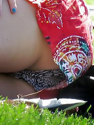Cameltoe, Upskirts, Toes