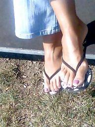 Candid, Feet