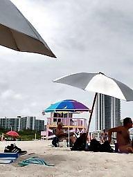 Amateur, Nude beach, Nude wife, Voyeur beach, Beach voyeur
