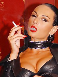 Smoking, Boots, Leather, Latex, Stocking, Smoke
