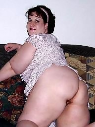 Mature bbw ass, Mature asses, Masturbation
