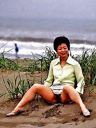 Japanese, Japanese milf, Public nudity