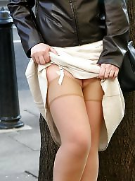 Stockings, Mature stocking, Uk mature, Mature in stockings, Town, Mature uk