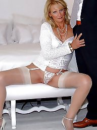 Satin, Mature, Mature facial, Facials, Mature facials, Mature in stockings