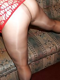 Mature pantyhose, Pantyhose mature, Amateur pantyhose, Red mature