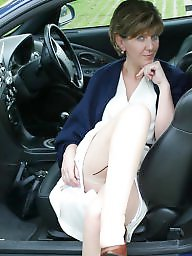 Mature in stockings, Stocking mature, Uk mature, Garden, Mature uk