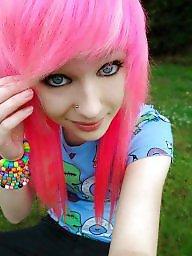 Emo, Teen girls, Cute
