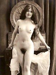 Vintage hairy, Vintage amateur, Nudes