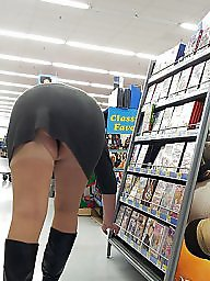 Milf, Upskirts, Shopping, Shop, Upskirt milf, My wife