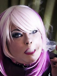 Smoking, Mistress, Pvc, Smoke