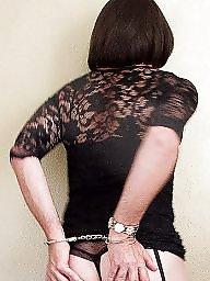 Lace, Black stocking