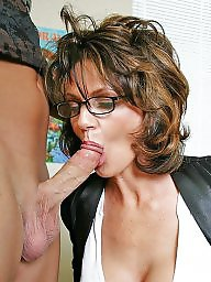 Mom, Sucking, Blowjobs, Suck, Mom blowjob, Mature blowjob