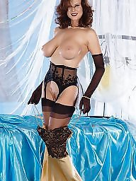 Party, Ladies, Gloves, Blacked, Black stocking