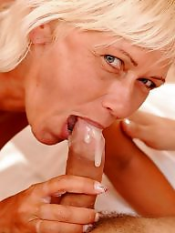 Granny blowjob, Granny facial, Mature facial, Mature blowjob, Mature facials, Cumming