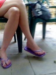 Legs, Candid, Leggings, Milf legs, Milf leg, Candid feet