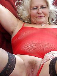 Mature, Stockings mature, Spreaders