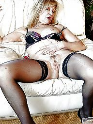 Italian mature, Italian, Blonde, Old, Blonde mature, Mature stockings